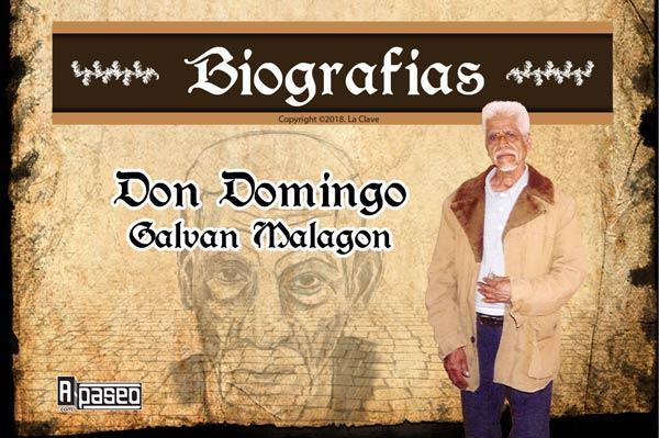 Biografia Domingo Galvan