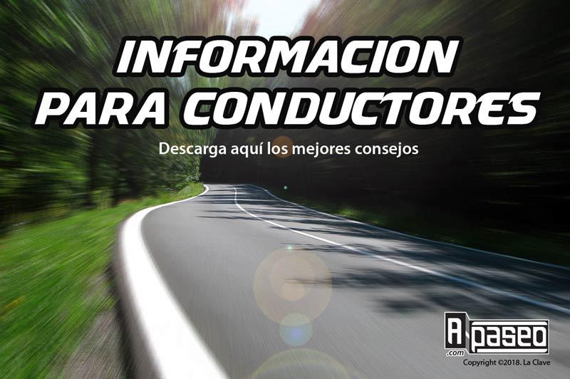 Información para conductores