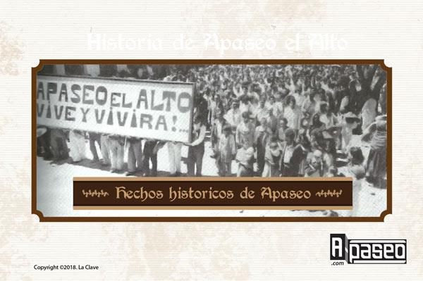 Hechos historicos Apaseo el Alto