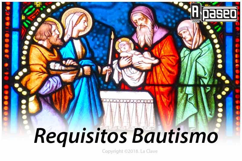 Requisitos bautismo