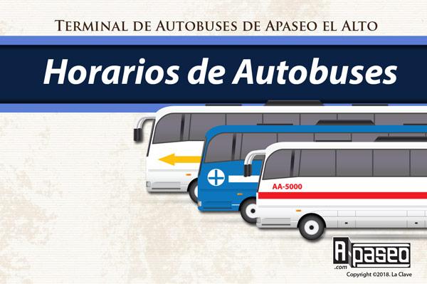 Autobuses de Apaseo el Alto, horarios