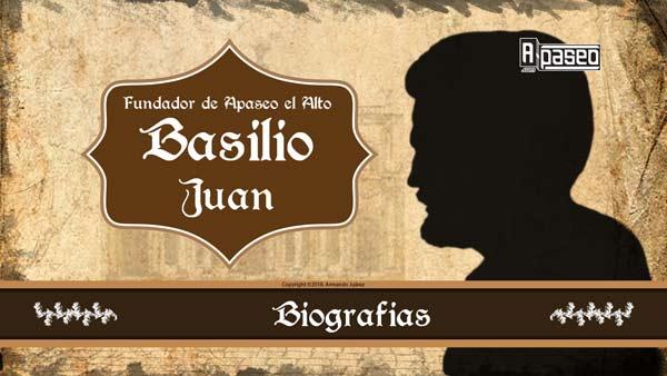 Basilio Juan Fundador de Apaseo el Alto