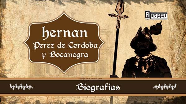 Hernán Perez de Córdoba y Bocanegra