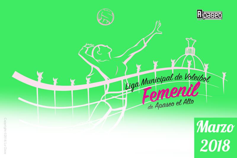 liga femenil volibol marzo18