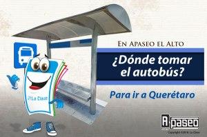 Donde tomar el autobús para viajar a Querétaro