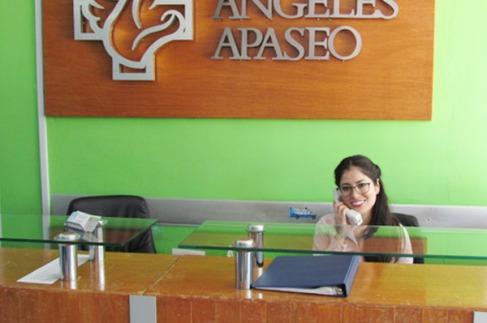 Recepción Hospital Ángeles Apaseo