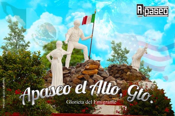 Glorieta del Emigrante Apaseo el Alto
