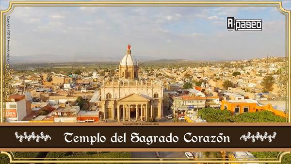 Templo del Sagrado Corazon, Apaseo el Alto, portada