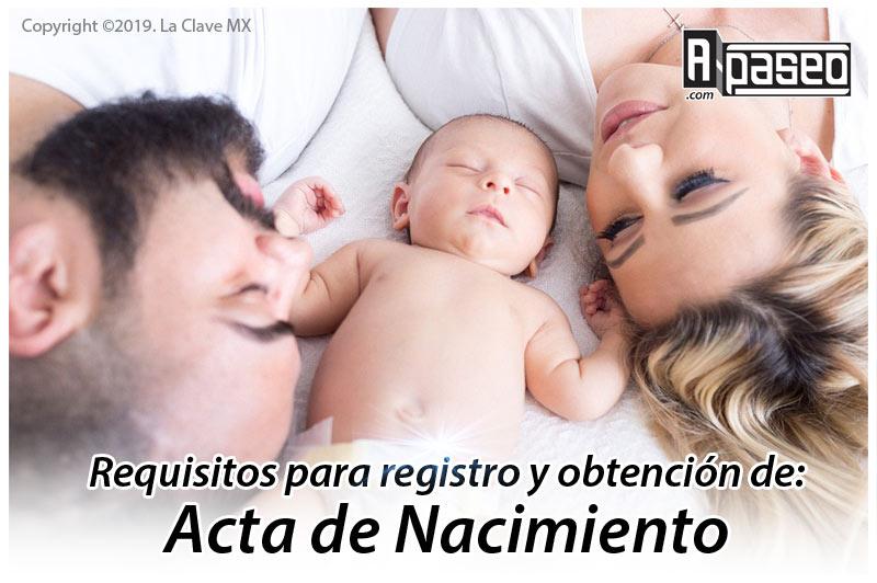 Acta de nacimiento requisitos Apaseo el Alto