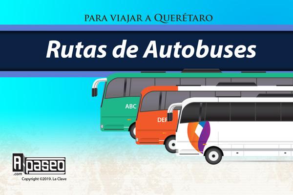 Rutas de transporte público en Querétaro