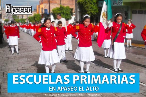 Escuelas primarias en Apaseo el Alto