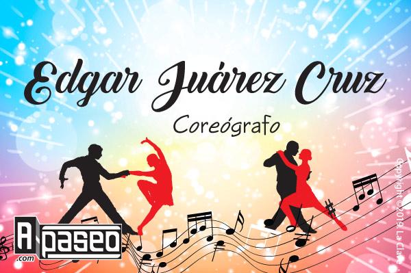 Coreógrafo Édgar Juárez