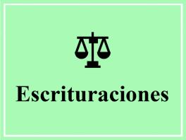 Escrituraciones