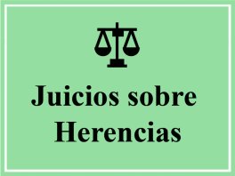 Juicios sobre Herencias