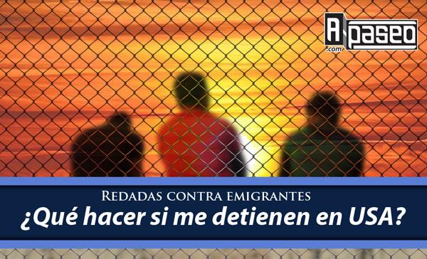 Redadas inmigrantes USA