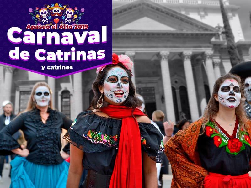 Carnaval catrinas portada