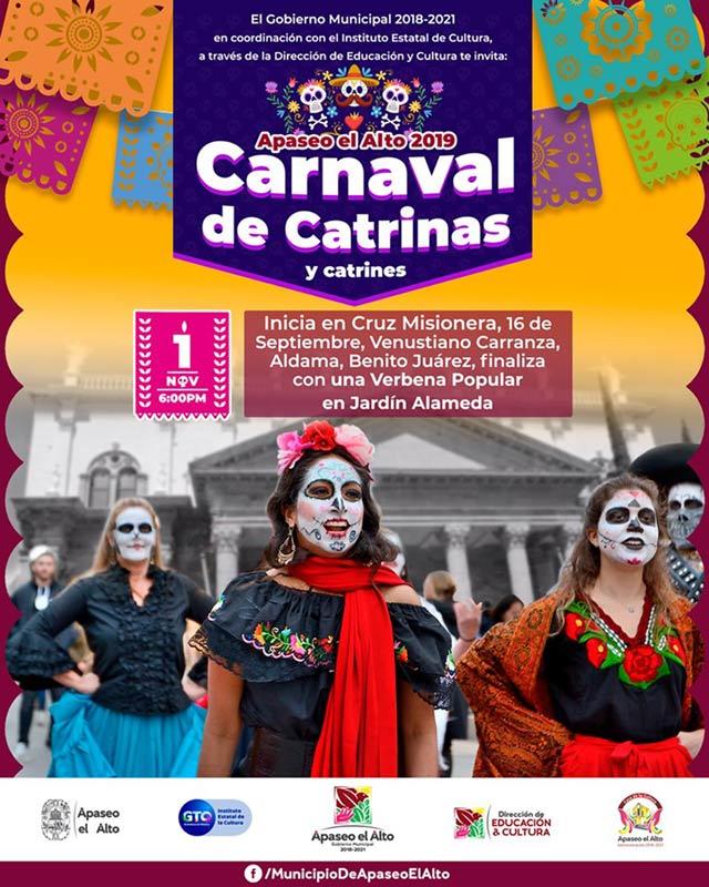 Carnaval de catrinas 2019