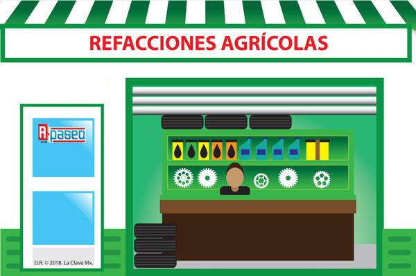 Refacciones agrícolas en Apaseo el Alto