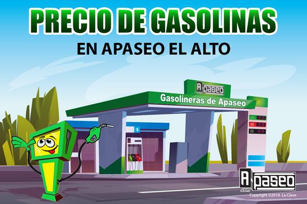 Precio de gasolinas en Apaseo el Alto