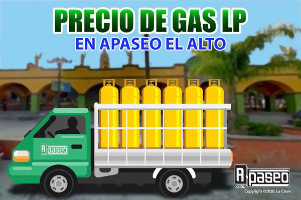 Precios del gas lp en Apaseo el Alto